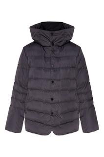 Утепленная стеганая куртка с капюшоном Papermint