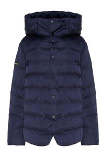 Синяя утепленная куртка Papermint