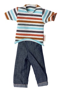 Джемпер и джинсы для куклы Maileg