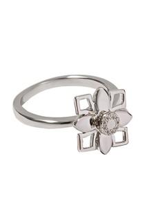 Кольцо с цветочной композицией Exclaim