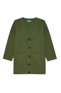 Зеленый кардиган с карманами Akhmadullina Dreams
