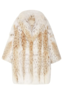 Пальто из меха рыси