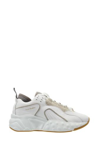 Белые кроссовки оверсайз Manhattan