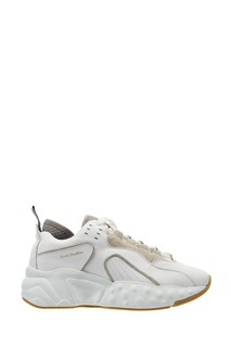 Белые кроссовки оверсайз Manhattan Acne Studios