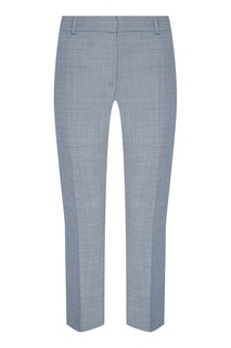 Укороченные светло-серые брюки Populaire Claudie Pierlot