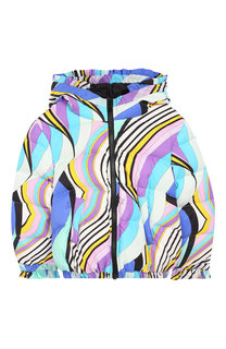 Пуховая куртка с капюшоном Emilio Pucci
