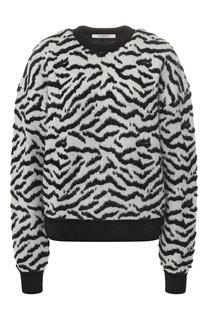 Свитер из смеси шерсти и вискозы Givenchy