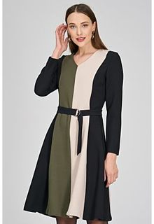Комбинированное платье La Reine Blanche