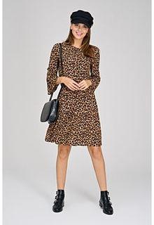 Платье леопардовой расцветки Tom Tailor