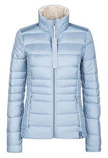 Голубая куртка-пуховик S.Oliver