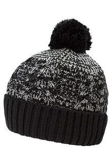 Вязаная шапка с помпоном Maxval