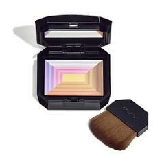 SHISEIDO Компактная пудра c эффектом сияния «7 цветов» 10 г