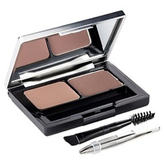 L`OREAL Профессиональный набор для дизайна бровей Brow Artist Тёмно-коричневый LOreal Paris