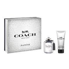 COACH Подарочный набор Coach Platinum Парфюмерная вода, спрей 60 мл + Гель для душа 100 мл