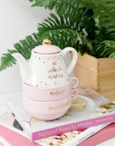 Чайник и кружки Sass & Belle - Мульти