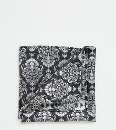 Серый трикотажный платок для нагрудного кармана Heart & Dagger - Серый