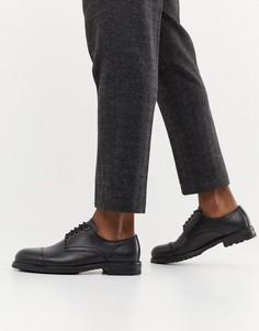 Кожаные туфли Selected Homme - Черный