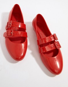 Туфли на плоской подошве Vivienne Westwood - Красный
