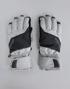 Серые перчатки Protest Griffin - Серый