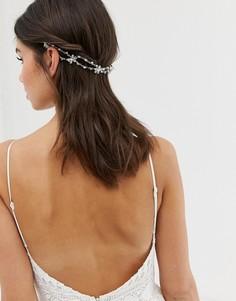 Украшение для волос с камнями ASOS DESIGN Bridal - Серебряный