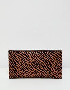 Кошелек с тигровым принтом ASOS DESIGN - Мульти