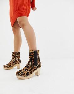 Ботинки в стиле сабо Free People West Johanna - Мульти