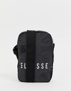 Черная сумка со светоотражающим логотипом ellesse Mack - Черный