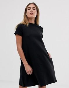 Платье-футболка Noisy May - Черный