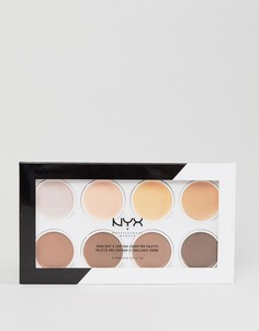 Палитра пигментных кремов для высветления и подчеркивания контуров NYX Professional Makeup - Мульти