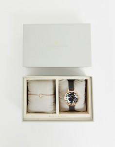 Часы и браслет с пчелой 3D Olivia Burton - Черный