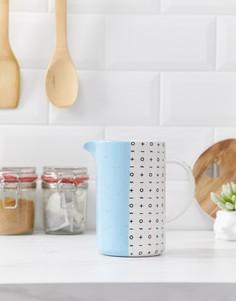 Синий кувшин или ваза Root 7 - Мульти