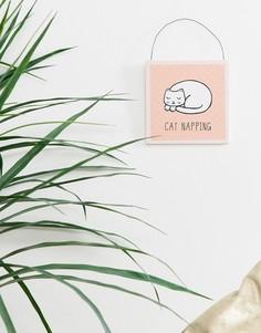 Декоративная подвеска в виде кошки Sass & Belle - Мульти