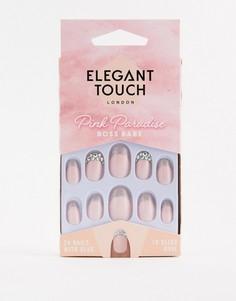 Накладные ногти Elegant Touch Pink Paradise - Boss Babe - Мульти