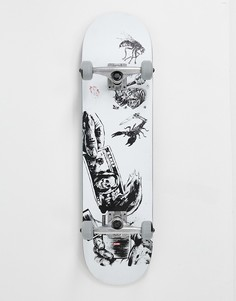 Скейтборд Globe Hard Luck - 8 дюймов - Серый