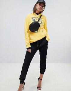 Джоггеры с логотипом Versace Jeans - Черный