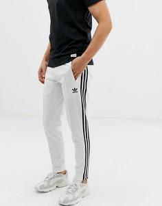 Белые джоггеры с полосками adidas Originals Beckenbauer 3 - Белый