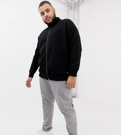 Черная спортивная куртка Tom Tailor Plus - Черный