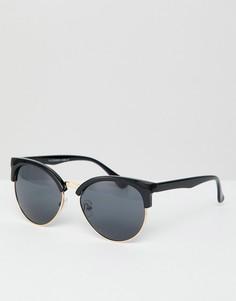 Солнцезащитные очки с черными стеклами 7X - Черный