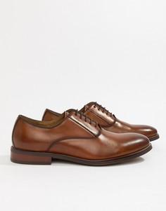 Светло-коричневые кожаные туфли на шнуровке ALDO Eloie - Рыжий