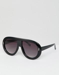 Черные солнцезащитные очки 7X - Черный