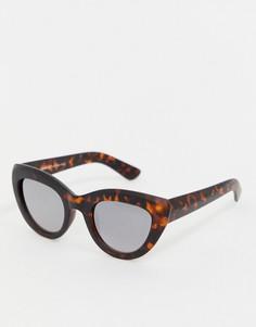 Черепаховые солнцезащитные очки кошачий глаз AJ Morgan - Коричневый