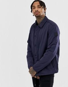 Темно-синяя спортивная куртка BOSS Oroach - Темно-синий