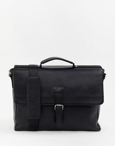 Кожаный портфель Ted Baker Departs - Черный