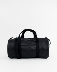 Черная сумка Fred Perry Tumbled - Черный