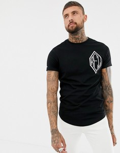 Обтягивающая футболка с заклепками Religion - Черный