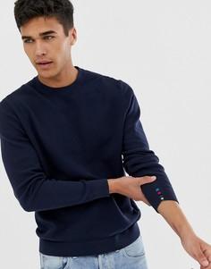 Темно-синий джемпер с круглым вырезом PS Paul Smith - Темно-синий