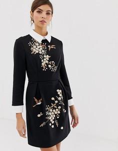 19a9c48d8746 Купить женские платья с длинным рукавом Ted Baker в интернет ...