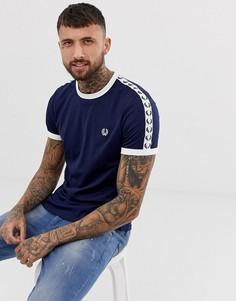 Темно-синяя футболка Fred Perry Sports Authentic - Темно-синий