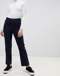 Укороченные расклешенные джинсы ASOS DESIGN Egerton - Синий