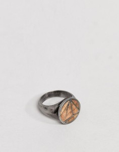 Кольцо на мизинец с камнем Simon Carter - Серебряный